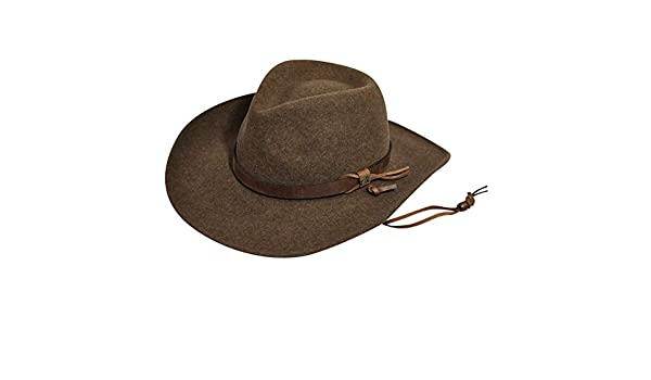 7762df9b776 Bailey Western Wind River Collection Morgan LiteFelt Outback Hat at Amazon  Men s Clothing store