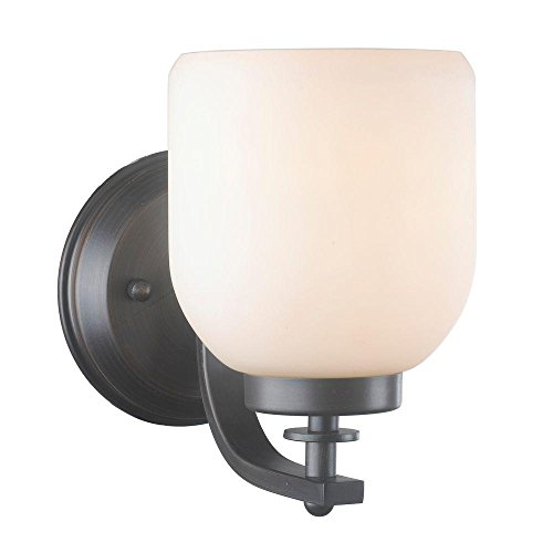 World Imports Lighting 61028 Kelly 1-Light Oil Rubbed Bronze Wall Sconce by World Imports Lighting