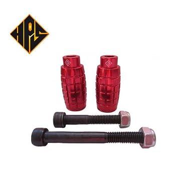 HPS un par rojo estilo granada prämie Stunt Patinete ...