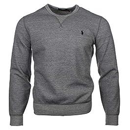 Ralph Lauren Crew neck sweatshirt – navy or grey.