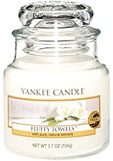 Amazon.com: Yankee Candle Company Fluffy Towels Large Jar Candle ...