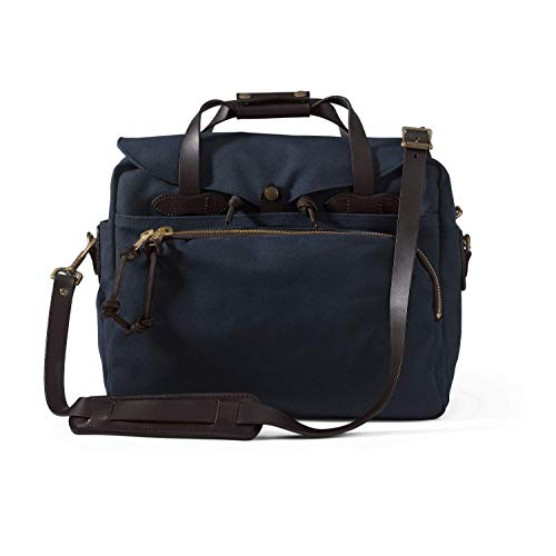 FILSON Rugged Twill Padded Computer Bag - Navy ()