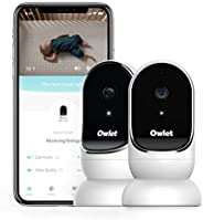 Owlet Cam 2 Pack Smart Baby Monitor - Secure, Encrypted HD Video from Anywhere, with Sound & Motion Notifi
