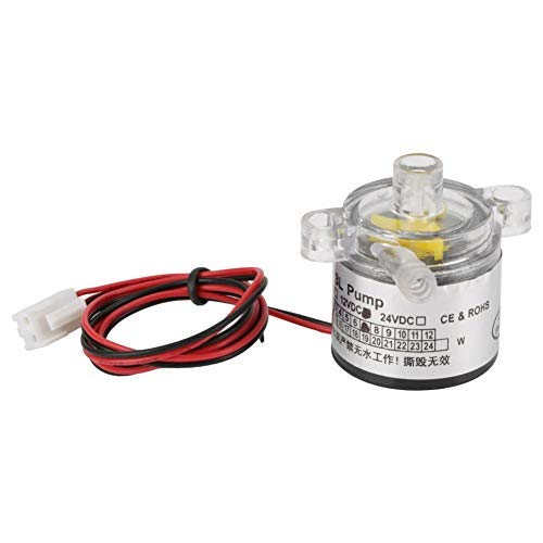 12V 7W Mini Brushless DC Water Pump Food Grade For Drinking Fountain Juicer Aquarium,Fountain,Small Fish Pond,Solar System (Dc Drinking Water Pump)
