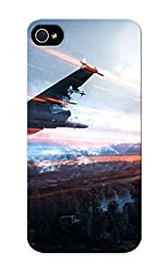 Hard Plastic Iphone ipod touch4 Case Back Cover, Hot Battlefield 3 Case For Christmas's Perfect Gift
