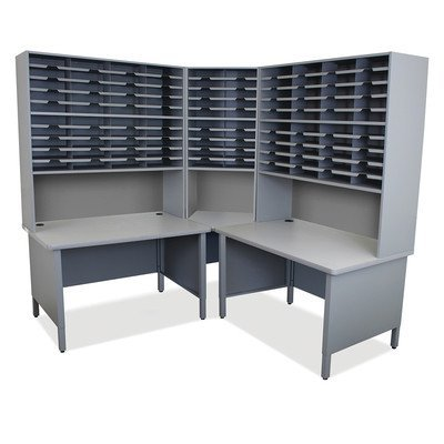 Mailroom 100 Slot Organizer Finish: Slate Gray by Marvel