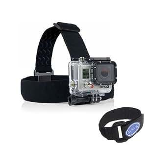 YUYIKES™ Elastic Adjustable Head Strap For GoPro Hero 4 3+ 3 2 1