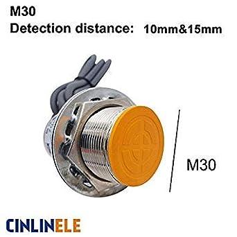 Sellify M30 LJ30A3 NPN PNP AC DC NO NC BX by AX AY - Sensor de proximidad ...
