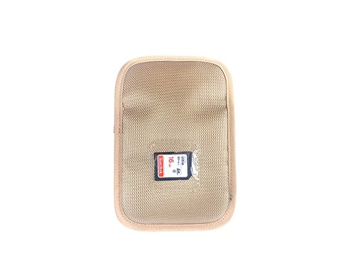 1-Pocket Lens Filter Case Filter Bag Pouch Protective Filter Carry Case Yellow 2 PCS