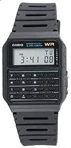 ساعة كاسيو للرجال CA53W داتابانك حاسبة