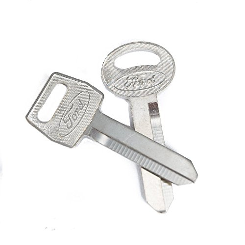 Ford Key Blanks (1979-1993 Ford Mustang Ignition & Trunk Key Blanks 2pc. Set)