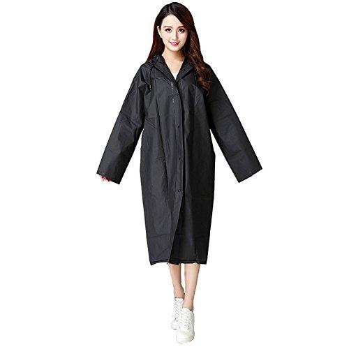 Aircee Lightweight Raincoat Rain Coat Cape Poncho/w Waterproof Rainwear Backpack Position (Poncho Rainwear)