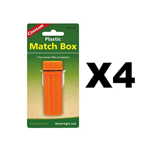Price comparison product image Coghlans 8746 Plastic Match Box