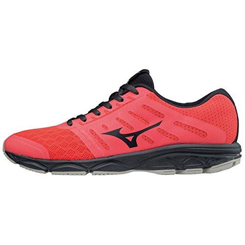 Mizuno Ezrun, Zapatillas de Running para Mujer Rojo (Fierycoral/Ombreblue/White 36)