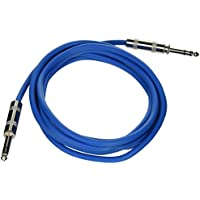 Seismic Audio - SATRX-10 - Blue 10 1/4 TRS to 1/4 TRS Patch Cable