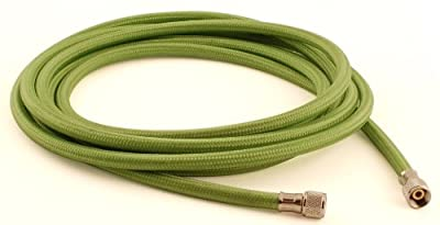 Grex GBH-10 10-Feet Braided Nylon Air Hose with 1/8-Inch Female Bothe Ends