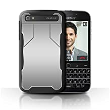STUFF4 Phone Case / Cover for Blackberry Classic/Q20 / Defense Design / Armour/Armor Collection