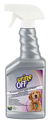 Kerbl 81964 Urine Off Spray Hund 500 ml Geruchs- und Fleckenentferner