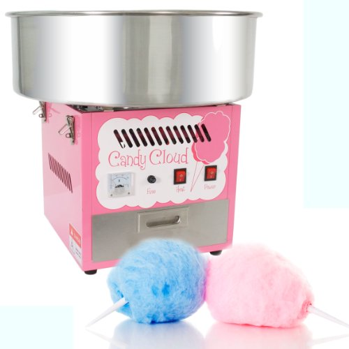 FunTime Commercial Quality Cotton Candy Floss Machine Maker - FT1000CC-P Cotton Candy Ingredients