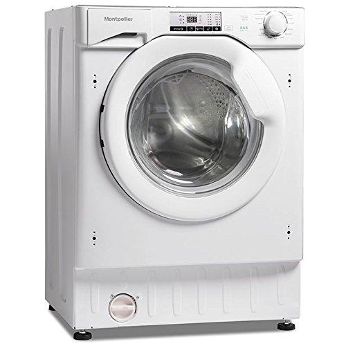 Montpellier MWDI7555 7.5kg Wash 5kg Dry 1400rpm Integrated Washer Dryer-White