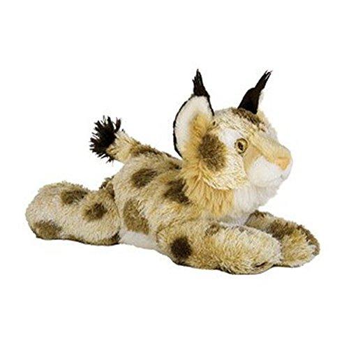 Bobby The Bobcat Plush Medium 12 Inch Stuffed Toy Animal Zoo Big Cat