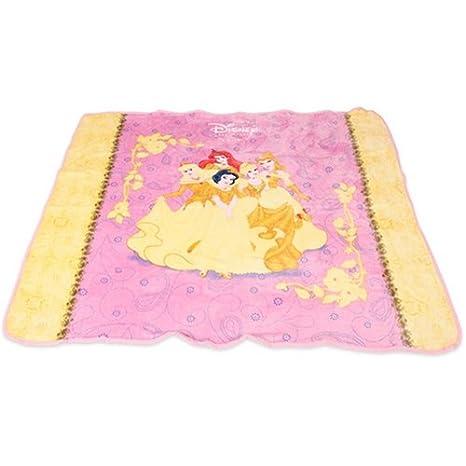 amazon com disney princess micro fleece deluxe throw blanket