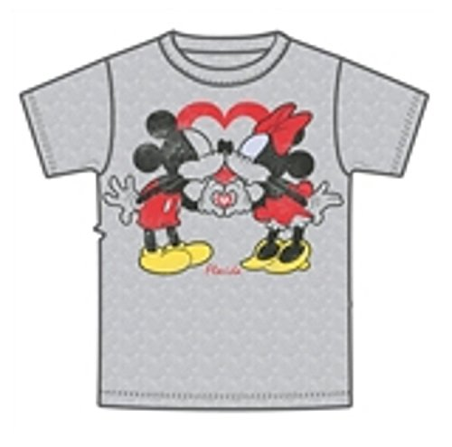 Mouse T Disney Minnie Gray Adult Unisex Tee Shirt Mouse Mickey C65Z06q7