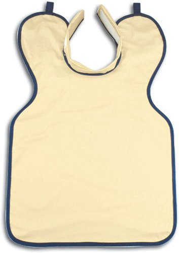 House Brand XR710 Lead Apron Adult W/Collar Beige by House Brand
