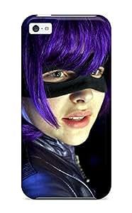 Premium Kick Ass Hit Girl Chloe Moretz Heavy-duty Protection Case For Iphone 5c by icecream design