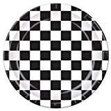 Beistle Checkered Plate, 9-Inch