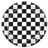 Checkered Plates   (8/Pkg)
