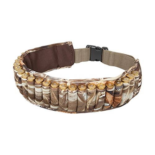 Allen Company Waterfowl Camo Shotgun Shell Belt, Holds 25 Shells