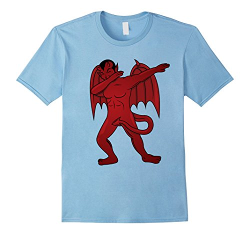 Satan Costume Baby (Mens Dabbing Devil T-Shirt - Dab Dance Satan Halloween Costume Small Baby)