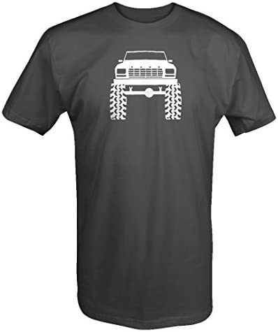 1980s 90s Ford Bronco Lifted Mud Tires Truck T Shirt