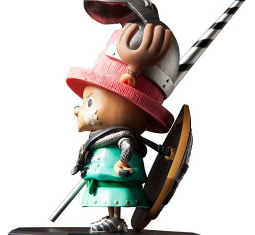 One Piece  Door Painting Collection Version Figur Tony Tony Chopper Knight Version Collection 1 7 PVC Figur d1609b
