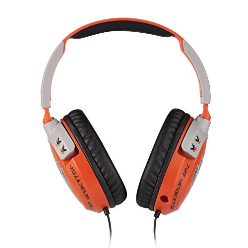 Turtle Beach Star Wars X-Wing Pilot Over-The-Ear Gaming Headset Orange/Gray TBS-4310-01