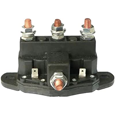 Winch Motor Intermittent Duty Reversing Solenoid DC Contactor Relay Switch: Automotive