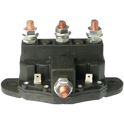 amazon com winch motor intermittent duty reversing solenoid dc rh amazon com John Deere Solenoid Wiring Diagram Starter Solenoid Wiring Diagram