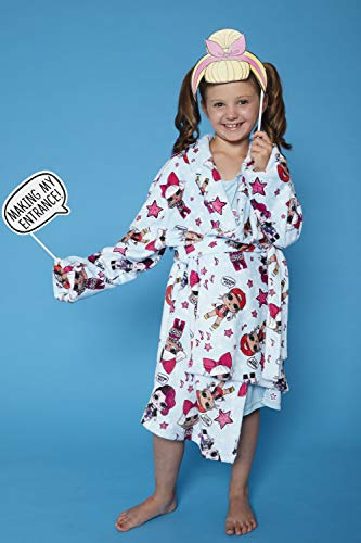65d3baa83 LOL Surprise! 'Excited Yet?' Glam Girl Pajama Robe, Light Blue, XS ...
