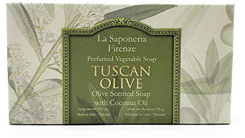 - Saponificio Artigianale Fiorentino La Saponeria Firenze Made in Tuscany Italian Soap 10.5 oz (Tuscan Olive)