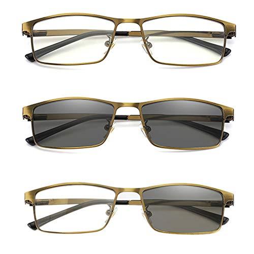 bb6c9f67c67b Hejia Reading Glasses Men Women Bifocal Multifocal Magnivision Multifocus  Spectacles Eyeglasses Eyewear - Dual Use Progressive
