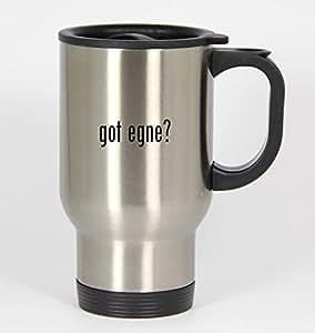 got egne? - 14oz Silver Travel Mug
