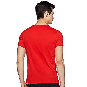 Amazon Brand – Symbol Men's Solid Regular Fit Half Sleeve Cotton T-Shirt (Combo Pack of 5)