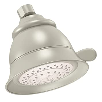 Moen 3838PM Four-Function Shower Head Platinum