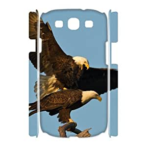 Animals Eagles 3D-Printed ZLB558775 DIY 3D Phone Case for Samsung Galaxy S3 I9300
