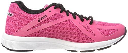 para Mujer Multicolor Running Amplica Hot Asics Zapatillas de Pinkblackwhite nPqtFI