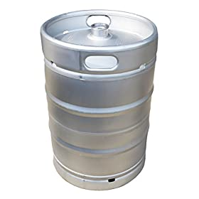 1/2 BBL (15.5 U.S. Gallon) American Made Stainless...