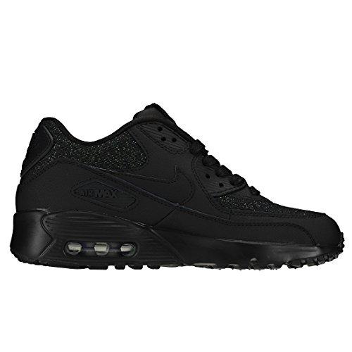 Se 001 Nike Sneakers Air Anthracite Mesh Black Noir Basses Black Femme 90 Max GS qHwOHt