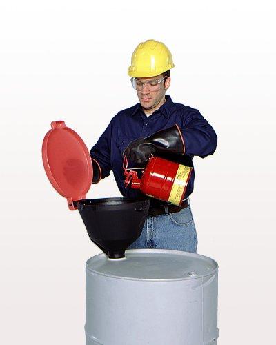 UltraTech 0651 Polyethylene Standard Burp-Free Ultra-Drum Funnel, 13-3/8
