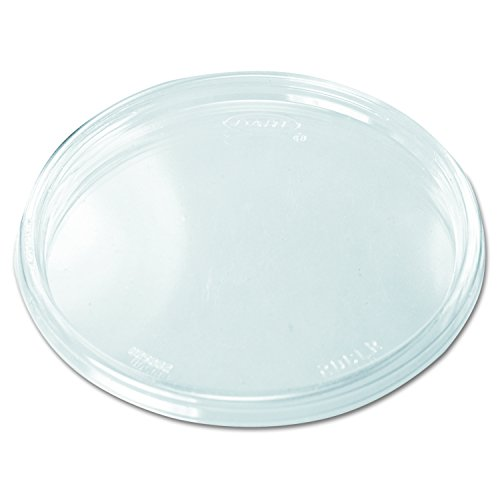 (Dart 20CLR Clear Non-vented Lid (Case of 1000))